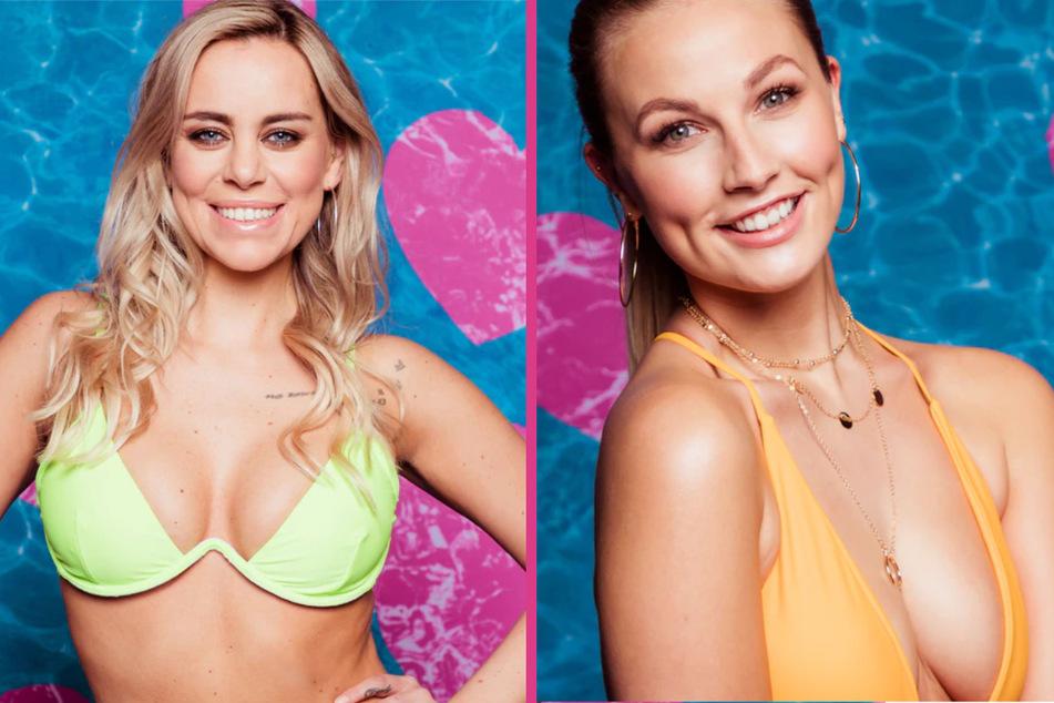 Die Islanderinnen Nicole (29, l) und Kathi (21). (Fotomontage)