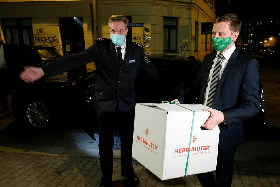 Leipzig Connewitz: Für die Connewitz-Cops: Kretschmer macht den Sternboten