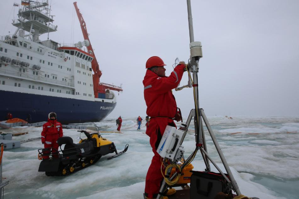 """Arktis-Expedition der """"Polarstern"""" steht nach Monaten vor dem krönenden Abschluss"""