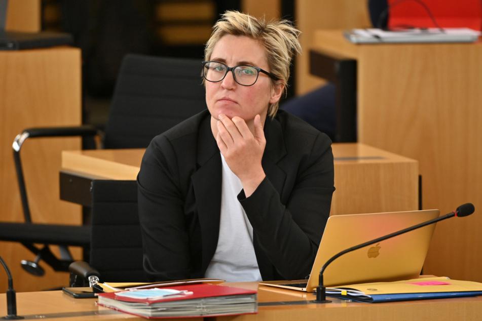 Susanne Henning-Wellsow (42) ist Landesvorsitzende der Linken-Thüringen.