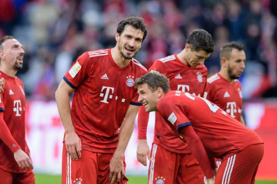 Gegen Wolfsburg durften Mats Hummels und Thomas Müller von Beginn an ran.