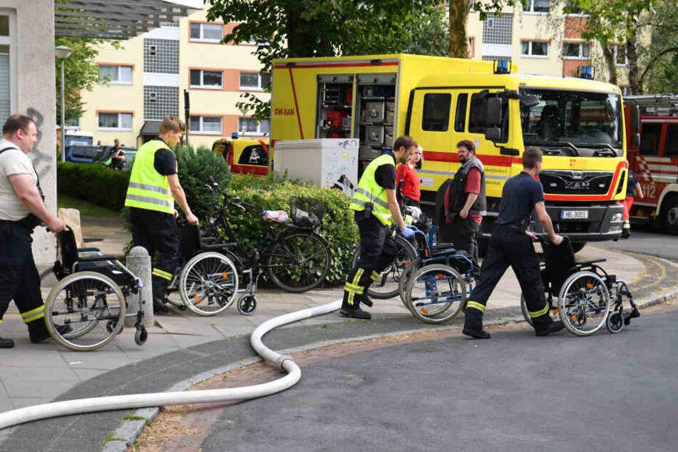 Dramatische Szenen in Bremen: 19 Verletzte bei Brand in Altenheim