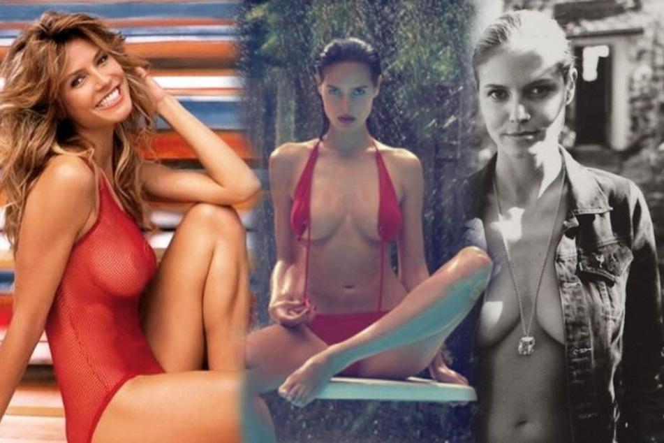 Sexy Heidi: Schon immer gab sich Heidi Klum sehr freizügig. Das freut ihre Fans, ruft aber auch kritische Stimmen auf den Plan.