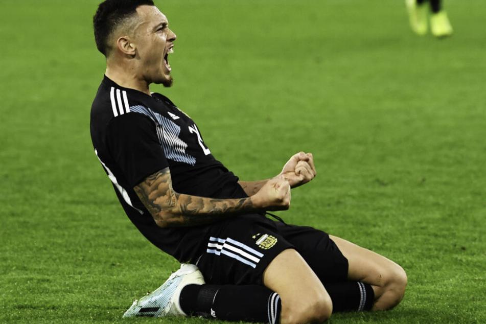Lucas Ocampos soll das Interesse der Bayern-Verantwortlichen geweckt haben.