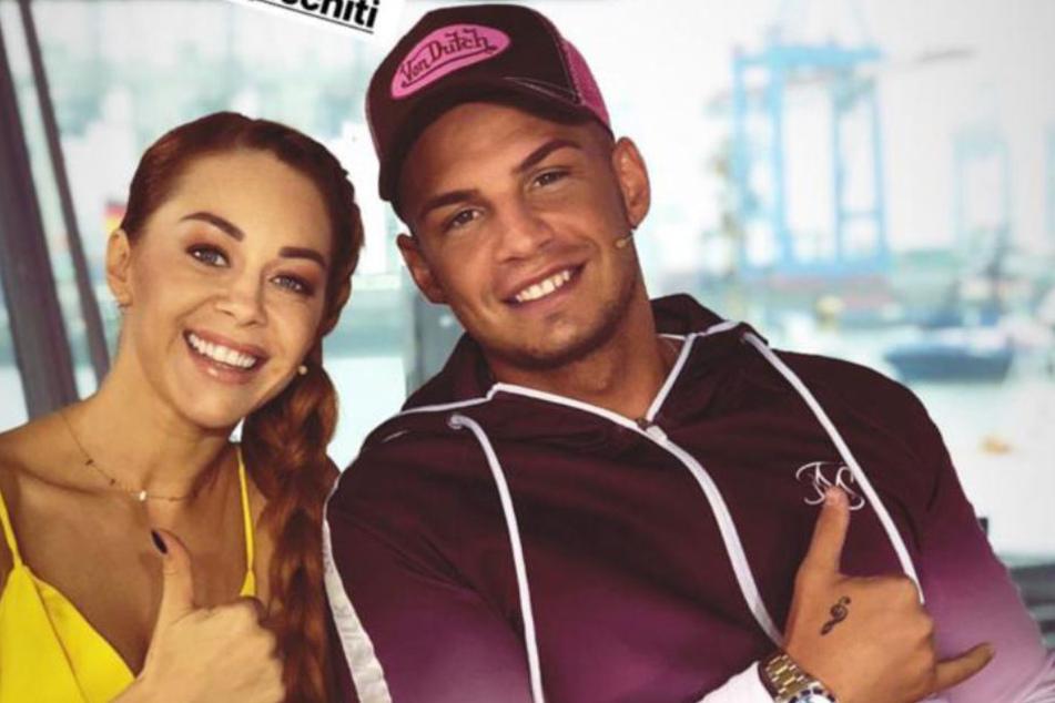 Oana Nechiti (30) und Pietro Lombardi (26) sind bereits ein echten Dream-Team.