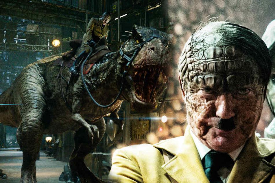 """Irre: Hitler mit T-Rex auf Mondnazi-Jagd in """"Iron Sky 2""""!"""