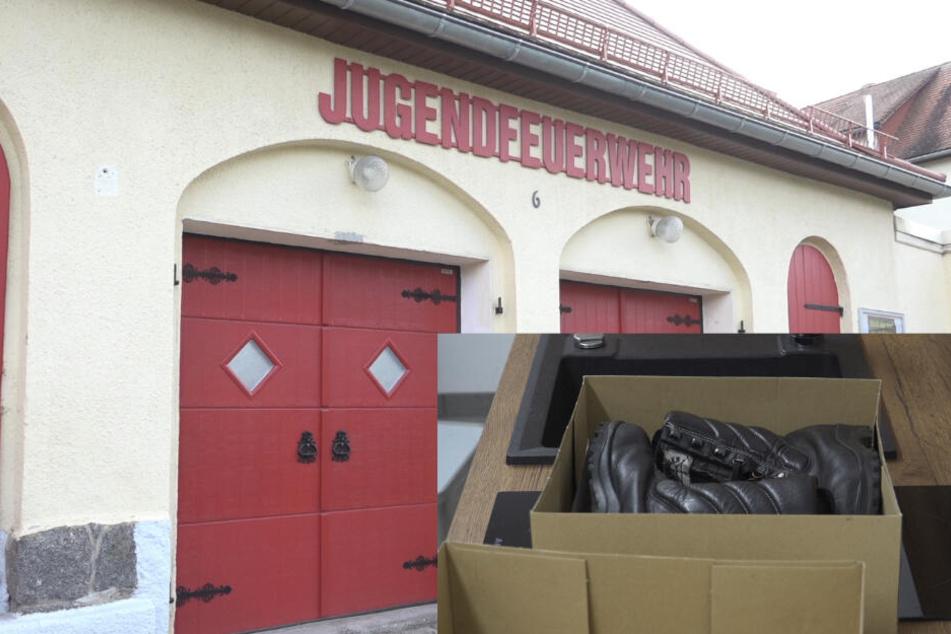 Kurz vorm Nikolaustag: Einbrecher klauen der Jugendfeuerwehr die Stiefel