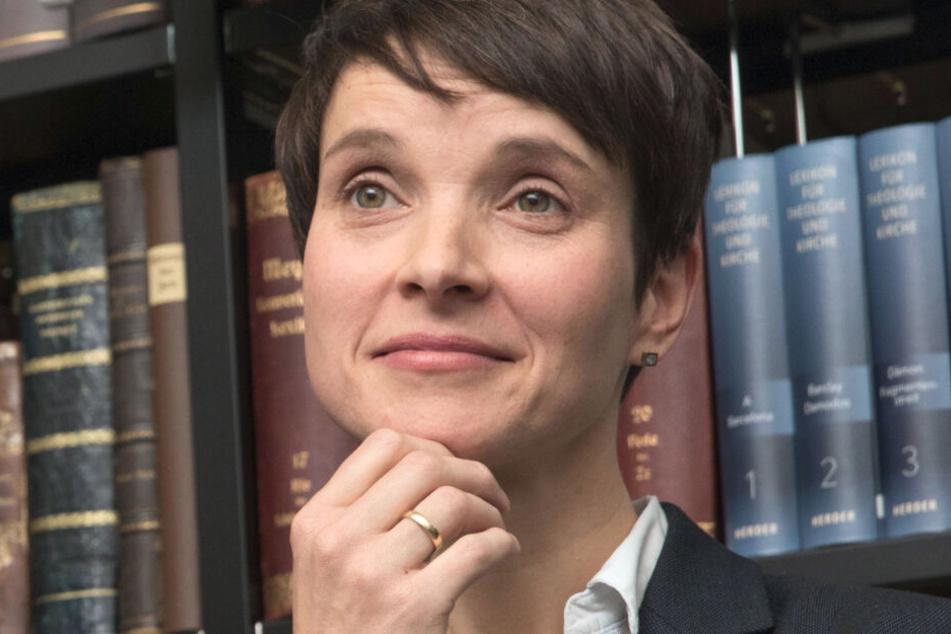 Frauke Petry war von 2013 bis 2017 Parteisprecherin der AfD.