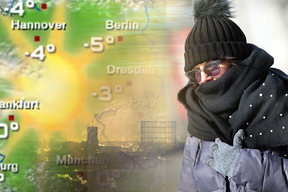 Das Ende der Kältewelle ist in Sicht.