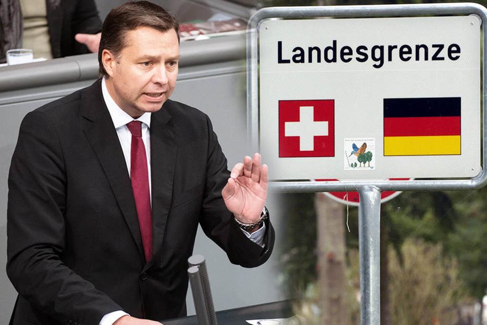 Stephan Mayer (CSU) fordert die Grenzschließung zur Schweiz.