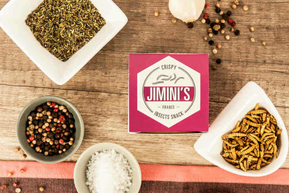 Hergestellt werden die Snacks vom französischen Unternehmen Jiminis.