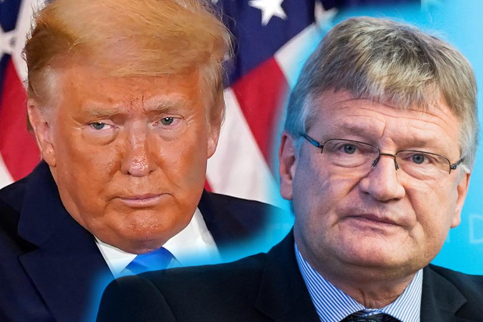 """Trump böse, Biden gut? AfD-Meuthen attackiert """"Besessenheit"""" der deutschen Medien"""