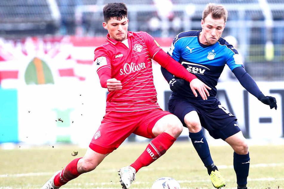 Jannis Nikolaou wechselt aus der 3. Liga zu den Schwarz-Gelben.