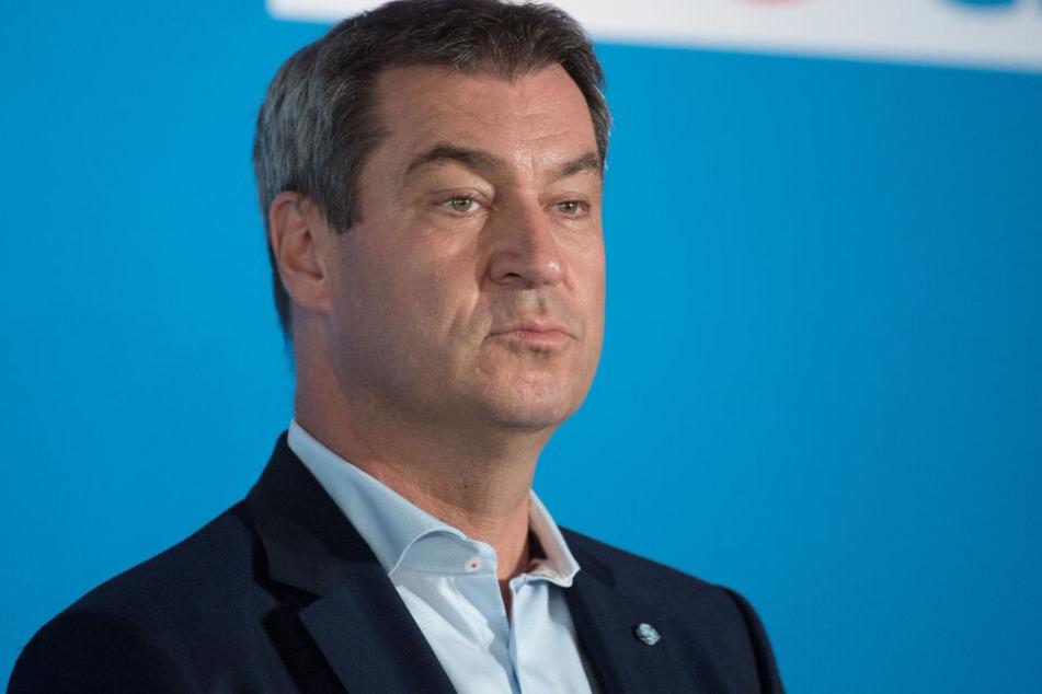 Muss Bayerns Ministerpräsident Markus Söder von der CSU gar ins Gefängnis?
