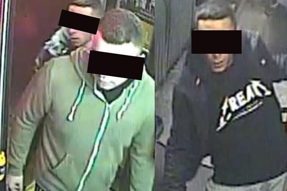 Leipzig: Sie richteten einen Mann (28) im Nachtbus übel zu: Wer kennt dieses Duo?