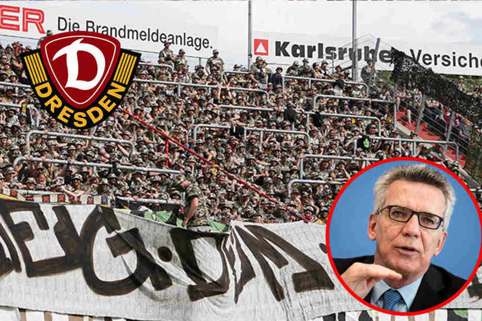 Nach Randale in Karlsruhe: Innenminister fordert Knast für Dynamo-Fans