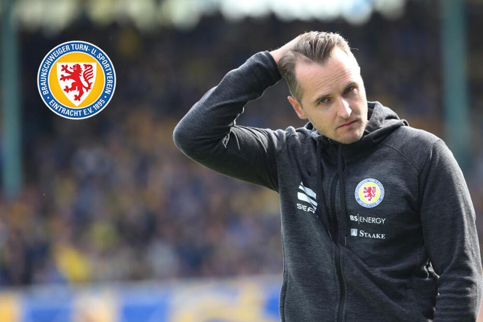 Aufstiegsfavorit Eintracht Braunschweig haut Trainer Flüthmann raus!