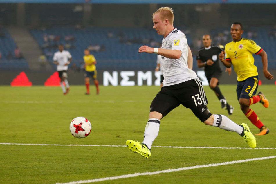 Dennis Jastrzembski bei der U-17 WM.