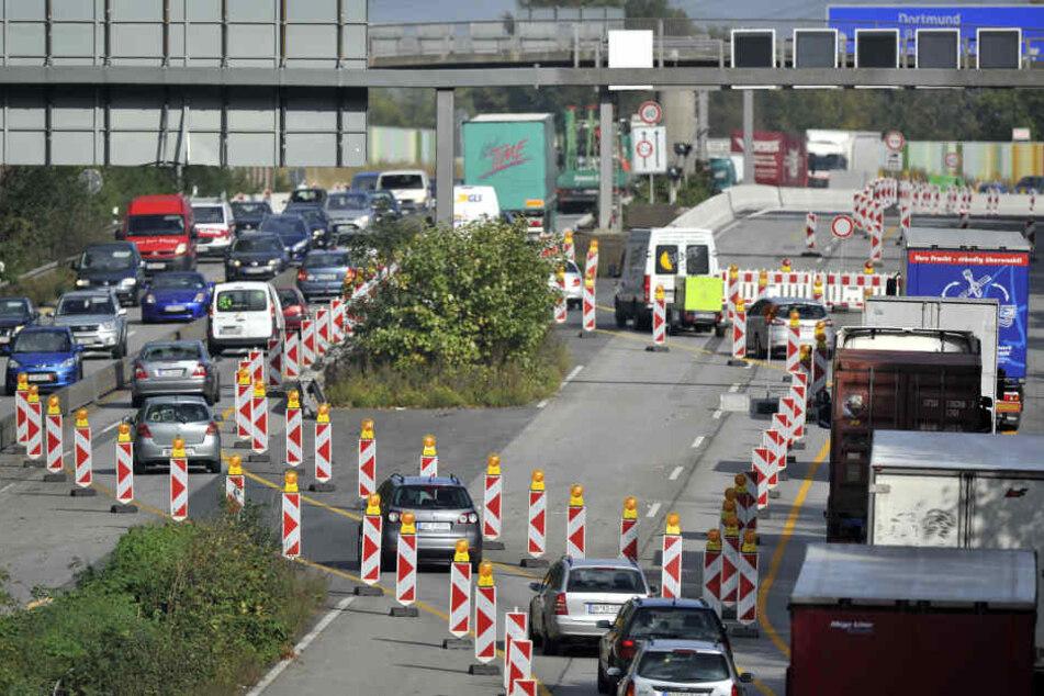 Top 10: Auf diesen NRW-Autobahnen droht 2019 der meiste Stau