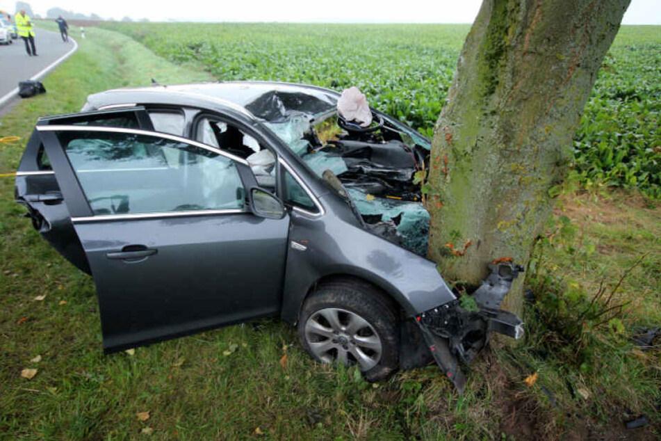 Als das Auto gefunden wurde, war der Fahrer bereits tot.