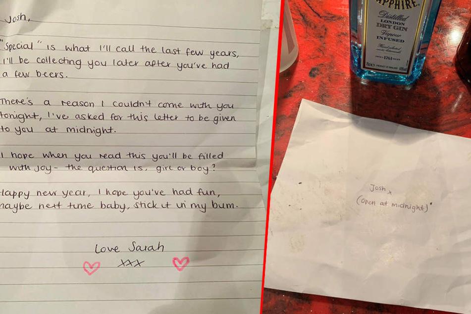 Dieser Brief wurde von dem Aufräum-Team entdeckt.