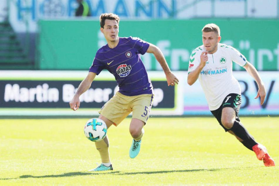 Mit soliden Leistungen in der Hinrunde: Clemens Fandrich (l.). Gegen Bochum schoss er seinen ersten Treffer seit seiner Rückkehr.