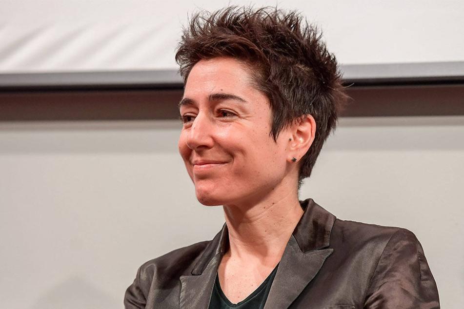 ZDF-Moderatorin Dunja Hayali will am 9. November auf dem Plauener Altmarkt mit Bürgern über Wende und  Gegenwart sprechen.