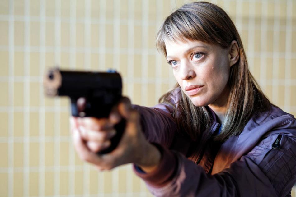 "Ermittelt am Ostermontag im TV: Heike Makatsch alias ""Tatort""-Kommissarin Ellen Berlinger."