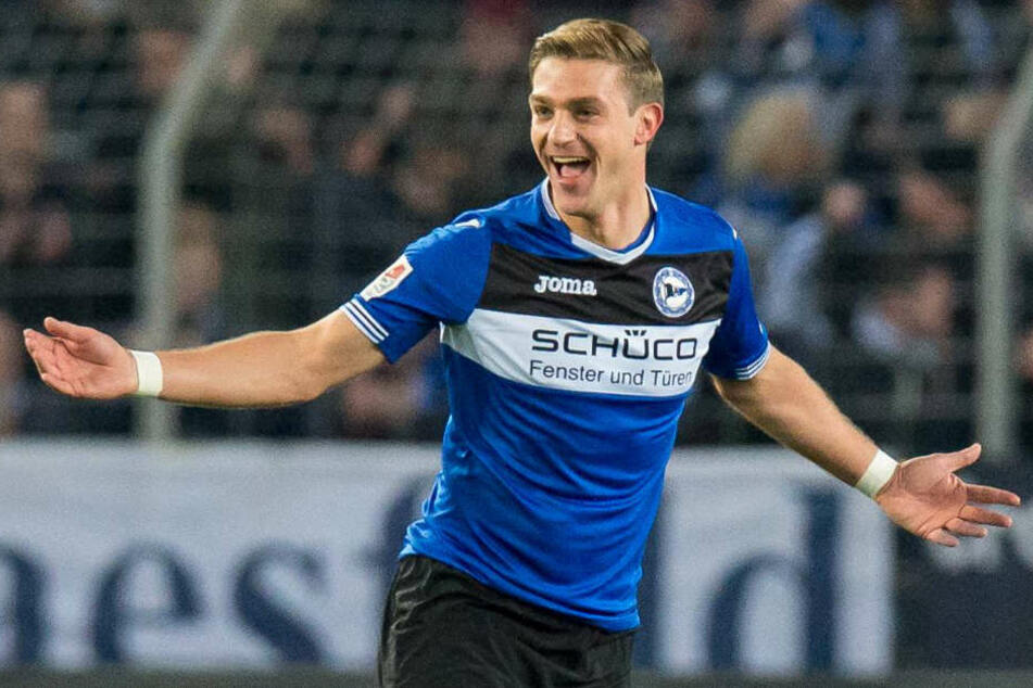 Seit Sommer 2011 schnürt Tom Schütz die Schuhe für die Bielefelder.