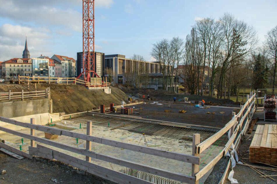 Das neue Bauhausmuseum soll 2019 eröffnet werden.