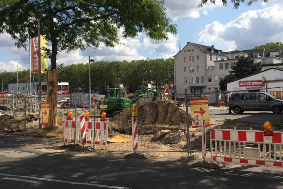 Die Bombe wurde bei Bauarbeiten in Ehrenfeld gefunden.
