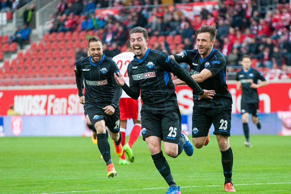 Aykut Soyak traf in der 7. Spielminute zum zwischenzeitlichen 1:0 für den SCP.
