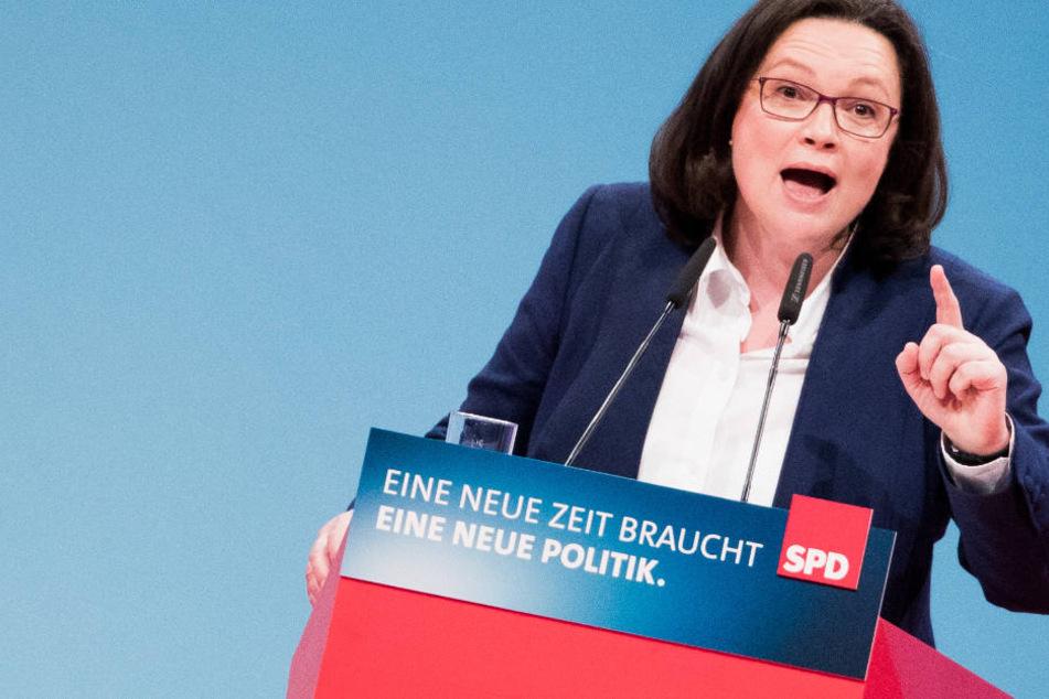 So will Nahles die SPD aufpolieren und den Osten zurückerobern