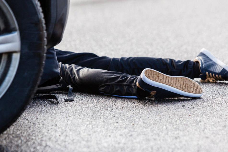 Tragischer Unfall! Mutter durchlebt Albtraum während eines Spazierganges