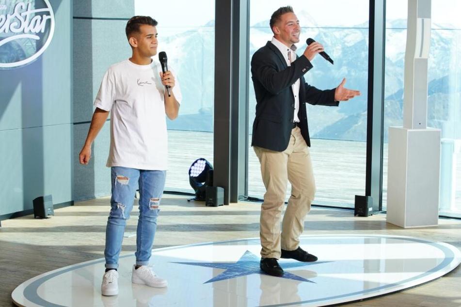 """Und los geht's: Zusammen mit seinem Duett-Partner Elvin Kovaci performte Ramon """"Only You""""."""