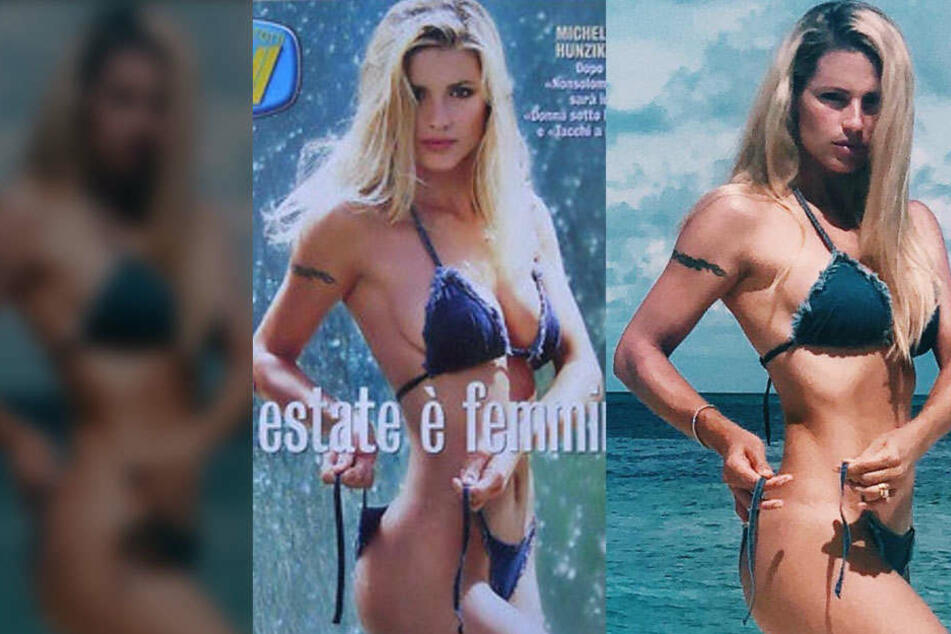 Unglaublich! Zwischen diesen Bikini-Bildern liegen 20 Jahre