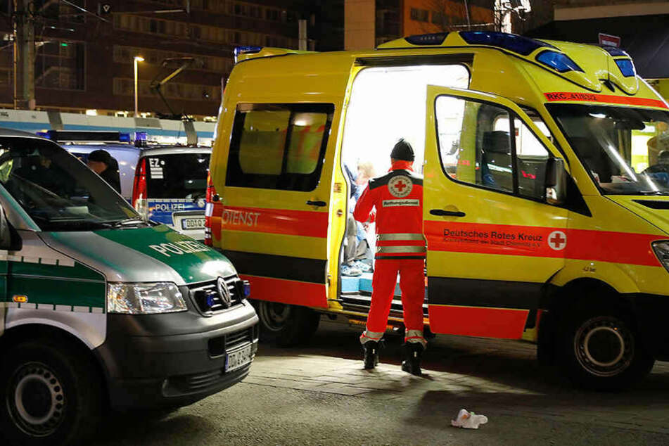 Brutaler Raubüberfall und Körperverletzung: Verletzte in Chemnitz