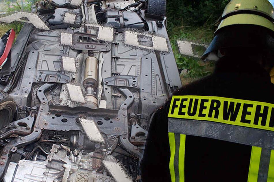 Drama auf der A100: Mann stirbt bei Unfall