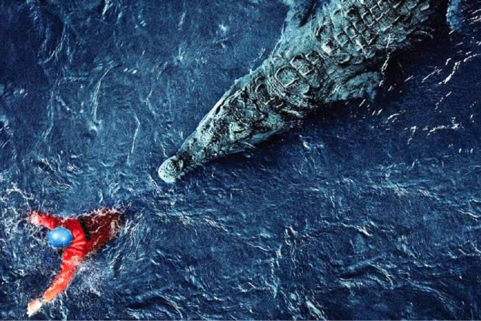 """Black Water: Abyss"": Blutrünstiges Killer-Krokodil auf Menschenjagd!"