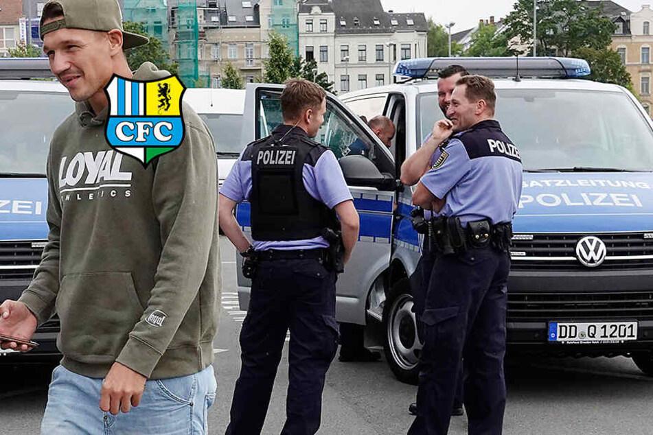 Nach Frahn-Entlassung: Polizei schlägt vor DFB-Pokal wegen CFC-Fans Alarm!
