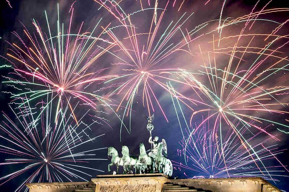 Am Brandenburger Tor wird auch in diesem Jahr wieder groß Silvester gefeiert.
