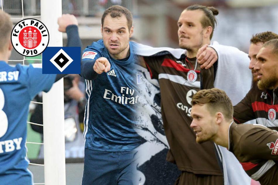Fußballgott trifft Torfabrik: St. Pauli und HSV vorm Derby
