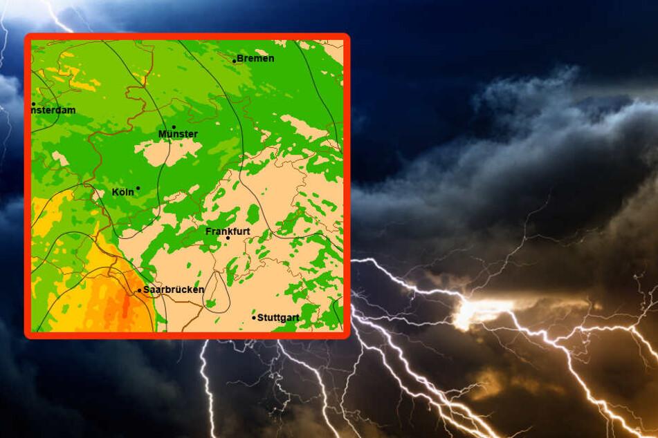 Sturmböen, Gewitter und Starkregen: Ivan steuert auf Deutschland zu!