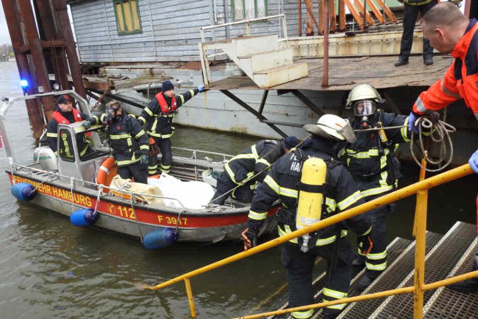 Der Leichnam wurde auf einem Werftgelände entdeckt.