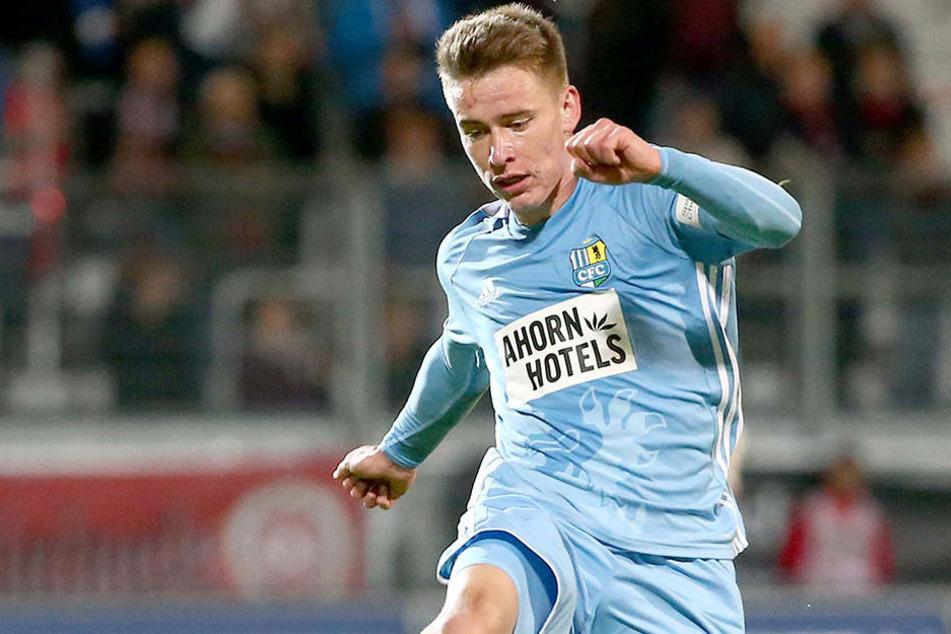 Florian Hansch (22) kommt beim CFC immer besser in Fahrt.