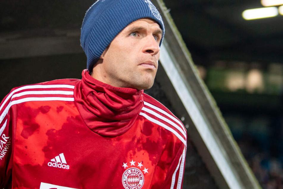 Vom Notmann zum Eröffner: Thomas Müller ist zurück in der Start-Elf des FC Bayern.