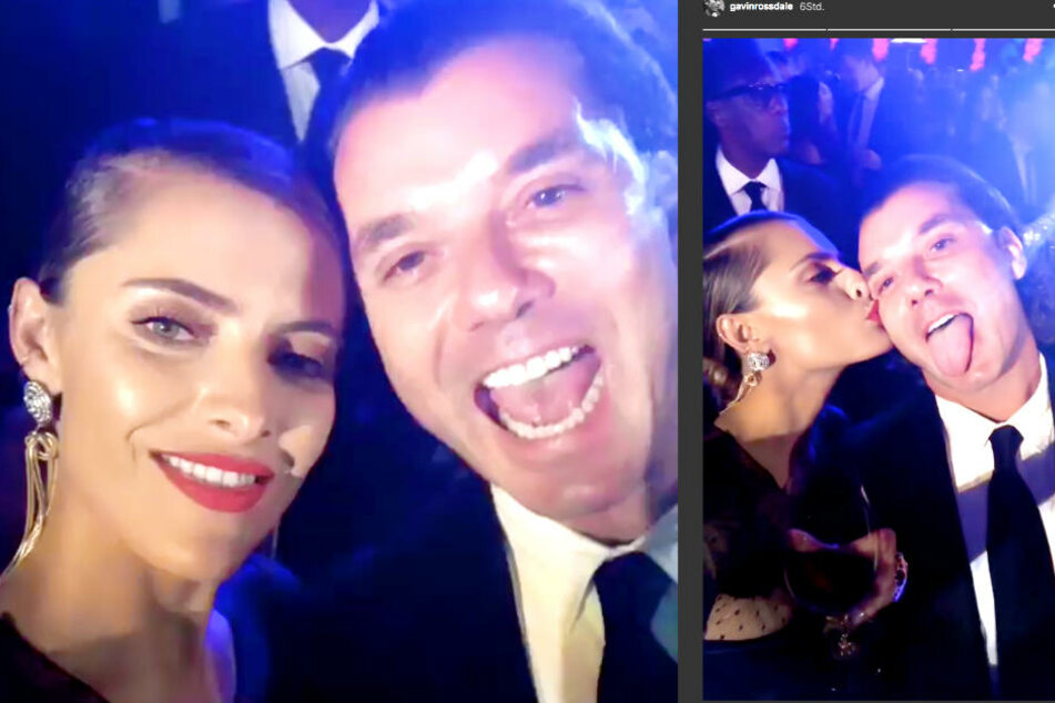 So süß turteln Sophia Thomalla (29) und Gavin Rossdale (53) auf Instagram.