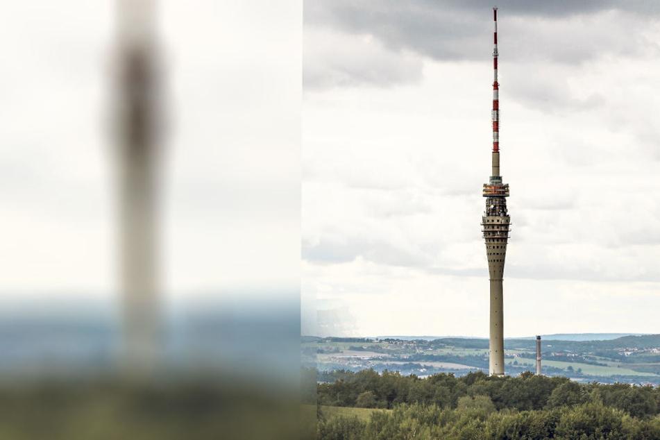 Zwei Stadtratsanträge haben als Ziel die Wiedereröffnung des  Fernsehturmes.