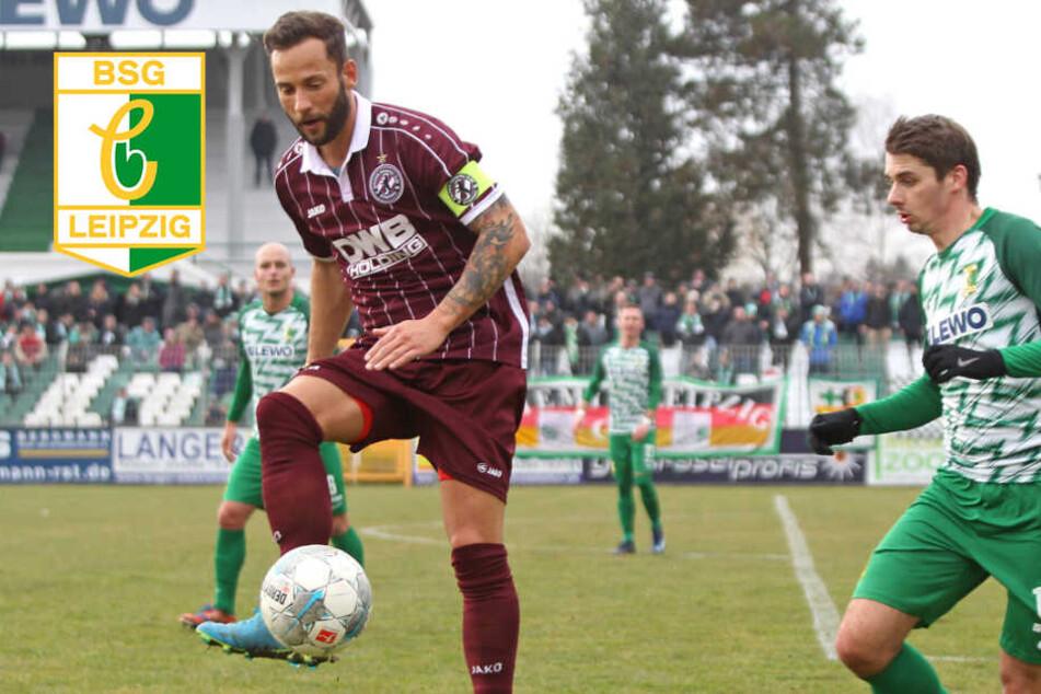 Punktgewinn! Chemie Leipzig startet mit Remis gegen BFC Dynamo ins neue Jahrzehnt