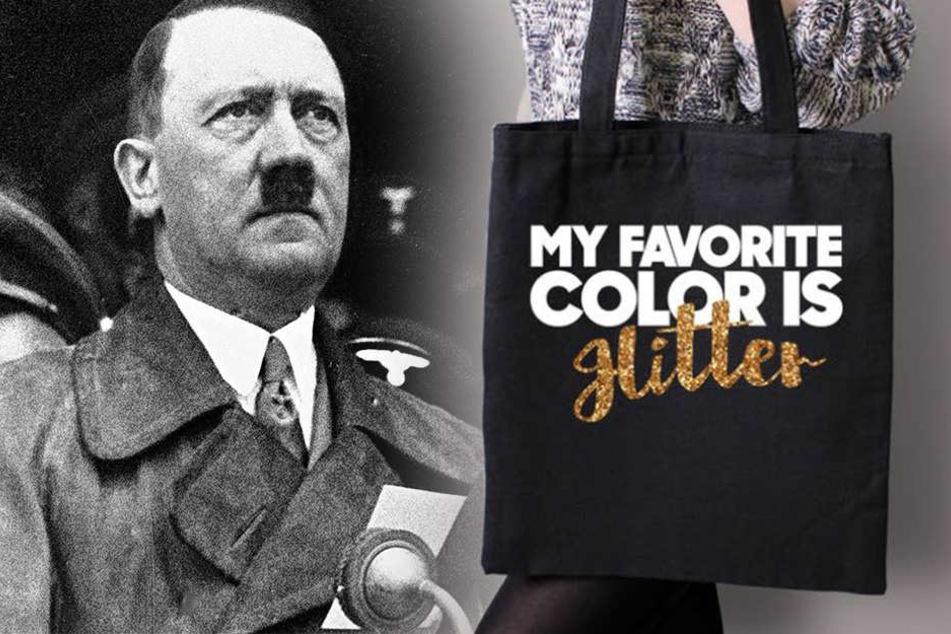 """""""Meine Lieblingsfarbe ist Hitler"""": Tasche löst Shitstorm im Netz aus"""
